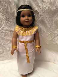 Cleopatra Egyptian Queen Princess Dress Gown By Rollingrockdolls