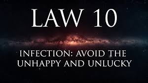 law 10 infection avoid the unhappy u0026 unlucky u2013 alexander