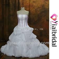 wedding dresses with purple detail rsw360 purple and white wedding dresses view wedding dresses