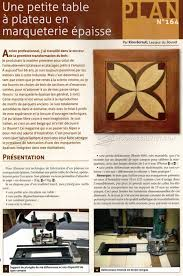 marquetry side table plans u2022 woodarchivist
