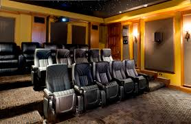 Home Cinema Decorating Ideas by Los Angeles Home Theater Installation Design Decorating Simple To