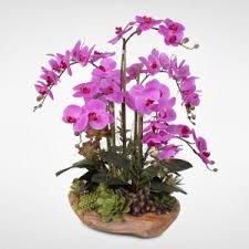 Fake Orchids Designer Silk Plants Artificial Flowers And Trees Natural