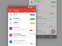 gmail mobile ui sketch freebie download free resource for sketch