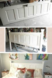 diy headboards for king size beds decorating decorating bedroom unique and creative headboard ideas