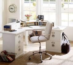 Corner Desk With Chair Bedford Corner Desk Pottery Barn