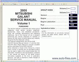 mitsubishi magna tp series service manual version details trove