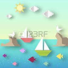 origami gabbiano origami barca foto royalty free immagini immagini e archivi