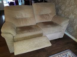 G Plan Recliner Sofas by 2 X G Plan Recliner Rush Sand Sofas 1 Large Two Seat 1 Two Seat
