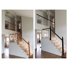 Staining Stair Banister 12 Best General Finish Java Gel Stair And Rail Redo Images On