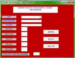 membuat database penjualan xp tugas visual basic herimuriyanto