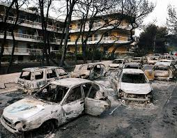 is it safe to travel to greece images Greece fires mapped map of greece wildfires locatio travel jpg