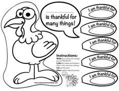 freebie thanksgiving turkey writing activity give each of