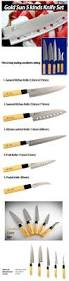 goldsun sashimi kitchen knife set stainless steel cutlery