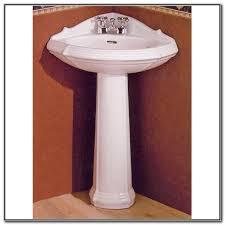 Kohler Pedestal Bathroom Sinks - kohler corner pedestal bathroom sink sink and faucets home
