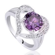 rings ladies silver images Sterling 925 silver ring new special design ladies red garnet real jpg