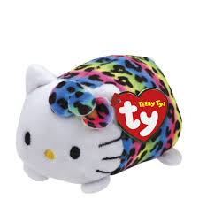 ty rainbow hello kitty teeny tys plush the paper store