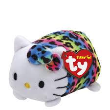 ty rainbow hello kitty teeny tys plush the paper store