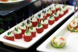 traditional canapes 8 finger foods and canapés littlerock