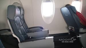 Delta Economy Comfort Review Delta Comfort Plus Row 5 Aboard A Crj 900 Video Modhop Com