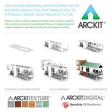 architectural model kits amazon com arckit 120 architectural model building kit 1 4 scale