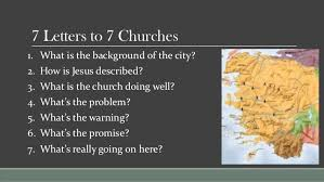 revelation week 2 7 letters to 7 churches