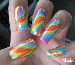 my simple little pleasures notd double rainbow water marble