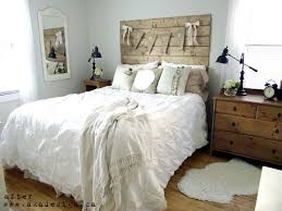 white rustic bedroom ideas and
