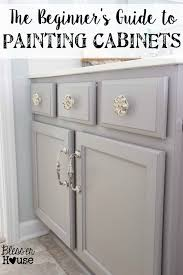 steps to painting cabinets the beginner s guide to painting cabinets house paintings and