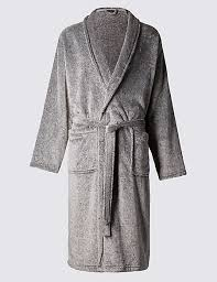 supersoft fleece dressing gown with belt m s collection m s