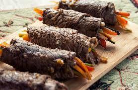 cuisine paleo balsamic steak rolls paleo leap