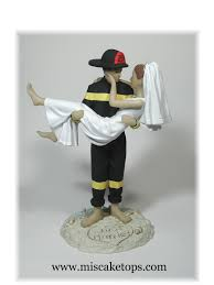 fireman cake topper firefighter exles of personalized cake tops