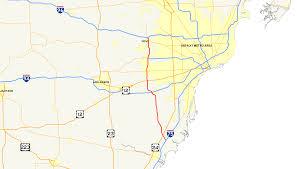 Map Of Southeast Michigan by File Interstate 275 Michigan Map Png Wikimedia Commons