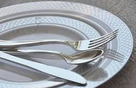 wedding party plates occasions wedding disposable plastic party plates silverware