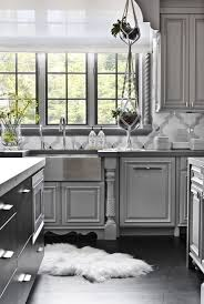 grey kitchen cupboards with black worktop 32 best gray kitchen ideas photos of modern gray kitchen