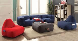 lazy life bean bags living room set coaster furniture furniture cart
