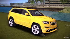 jeep laredo grand cherokee srt 8 wk2 for gta vice city