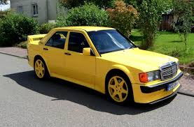 mercedes benz 190e evolution yellow w201 mercedes benz 190e