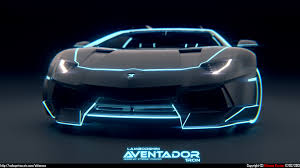 modified lamborghini tron paintjobs are a thing and i like it get ur daily fix