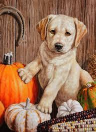 Fall Flags Yard Pumpkin Harvest Puppy Autumn Garden Flag Yellow Labrador Fall