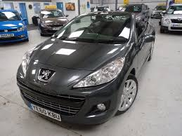 peugeot 2 door sports car used peugeot 207 2010 for sale motors co uk