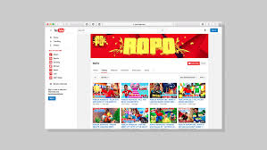 best home design youtube channels ropo youtube channel identity on behance