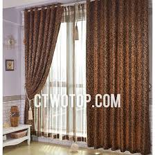 Luxury Modern Curtains Designer Luxury Brown Modern Curtains On Sale Uk