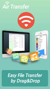 air transfer file transfer from to pc thru wifi on the app store