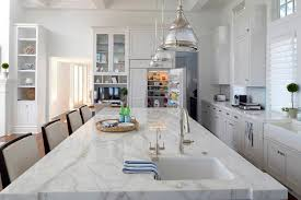 white kitchen cabinets with gold countertops white kitchens that aren t bland