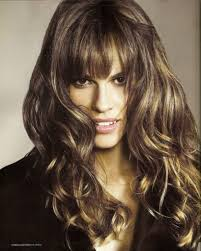long curly hairstyles with bangs long curly hair with bangs