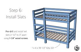 X Bunk Bed  Rogue Engineer - Simple bunk bed plans