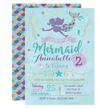 mermaid invitations 400 mermaid announcements u0026 invites