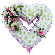 funeral flower funeral heart tributes wreaths flowers