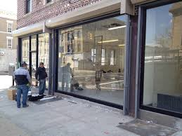 store front glass doors glass u0026 storefront brooklyn ny absolute glass u0026 mirrors
