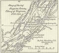 Maps Virginia by Maps In Waddell U0027s Annals Of Augusta County Virginia Online At